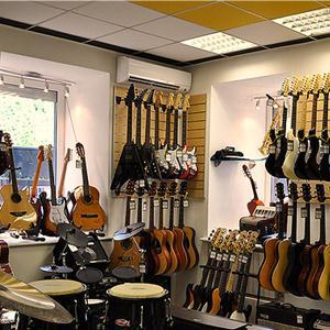 Музыкальные магазины Рыбной Слободы